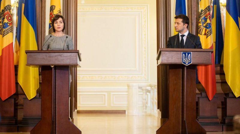 Володимир Зеленський і Майя Санду обговорили перспективи економічної співпраці України та Молдови