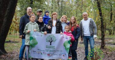 Колективна історія успіху українців через об'єднання у висадженні дерев