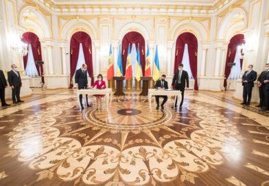 Президент Молдови прибула з офіційним візитом до Києва